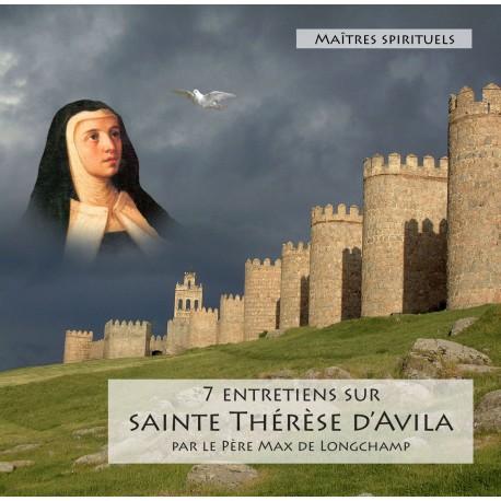 CD mp3 : 7 Entretiens sur Ste Thérèse D'Avila