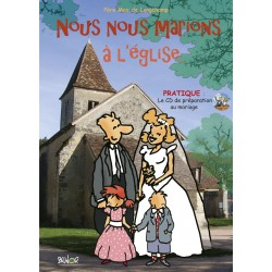 Brochure-CD MP3 : Nous nous marions à l'église