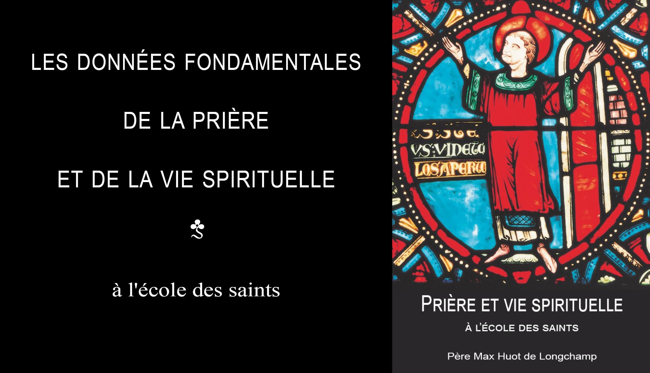 Prière et vie spirituelle